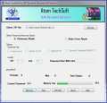 Atom TechSoft RAR password recovery tool
